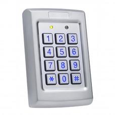 Controler cu tastatura stand alone antivandal ROSSLARE AC-Q41HB, PIN, 500 utilizatori, IP 54