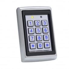 Controler cu tastatura stand alone antivandal ROSSLARE AC-Q42SB, PIN/card, 500 utilizatori, IP 65