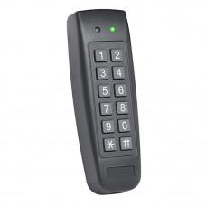 Controler stand alone pentru interior sau exterior ROSSLARE AC-F44, 500 utilizatori, 2 intrari, PIN/cartela