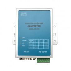 Convertor integrat RS232/422/485 la TCP/IP Kentec ATC 2000, sina DIN, 10/100 Mbps