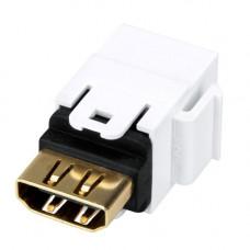 Cupla HDMI mama- mama SCHRACK TOOLLESS LINE HSEMRHDMWS