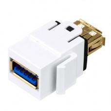 Cupla USB 3.0 A-A SCHRACK TOOLLESS LINE HSEMRHDMWS