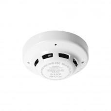 Detector conventional de fum fotoelectric Hochiki SLR-E-IS(WHT), ATEX, vizibilitate 360 grade, ABS alb