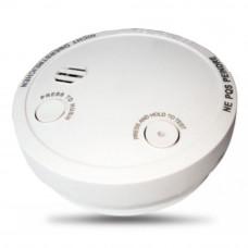 Detector de fum Stand Alone wizMart NB-739-1, 9 VDC, buzzer 85 dB, functie HUSH