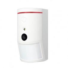 Detector de miscare PIR cu camera JABLOTRON 100 JA-120PC-90, 12 m, 640 x 480 pixeli, 3 m flash
