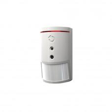 Detector de miscare PIR cu camera JABLOTRON 100 JA-120PC, 12 m, 640 x 480 pixeli, 3 m flash