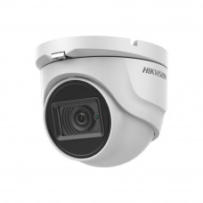 Camera supraveghere dome Hikvision Ultra-Low Light DS-2CE76H8T-ITMF, 5MP, IR 30m, 2.8 mm