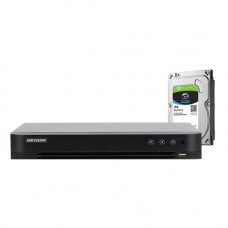 DVR HDTVI CU 8 CANALE HIKVISION TURBOHD 4.0 DS-7208HQHI-K1 + HDD 1TB
