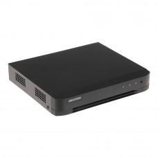 DVR Hikvision Turbo HD DS-7204HUHI-K1/E, 4 canale, 5 MP