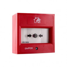 BUTON DE INCENDIU CONVENTIONAL UNIPOS FD3050-RE