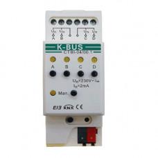 Interfata de intrare CTBI-04/00.1, binara, 4 canale, comutare scvente
