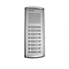 Interfon de exterior Commax DR-16UM, 16 familii, 12 V, ingropat