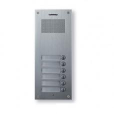 Interfon de exterior Commax DR-6UM, 6 familii, 12 V, ingropat