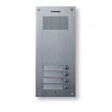 Interfon de exterior Master Commax DR-4UM, 4 familii, 12 V, ingropat