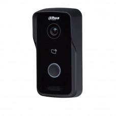 Videointerfon de exterior wireless Dahua DHI-VTO2111D-W, 1 MP, Mifare, aparent