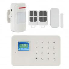 Kit alarma wireless KR-G18, 99 zone, 100 m, GSM