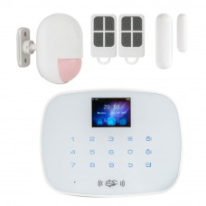 Kit alarma wireless KR-G19, 99 zone, 20 tag-uri, 100 m