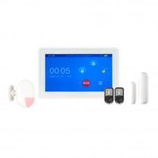 Kit alarma wireless KR-K7, 99 zone, GSM/WiFi, 99 senzori