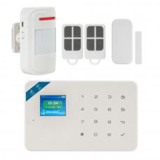 Kit alarma wireless KR-W18, 99 zone, GSM/WiFi, 100 m