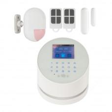 Kit alarma wireless KR-W2, GSM/WiFi/PSTN, 99 zone, 20 tag-uri