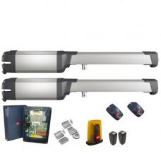 Kit automatizare poarta batanta BFT PHOBOS BT A25, 400 Kg/canat, 2.5 m/canat, 24 V