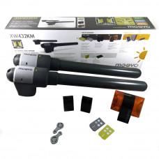 Kit automatizare poarta batanta Moovo XW432KM, 180 Kg/canat, 1.8 m/canat, 12 V