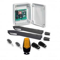 Kit automatizare poarta batanta Motorline JAG 400 - 230V, 250 Kg/canat, 3 m/canat, 300 W