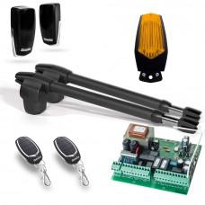 Kit automatizare poarta batanta Motorline LINCE 300 - 230V, 2.5 m/canat, 250 Kg/canat, 180 W