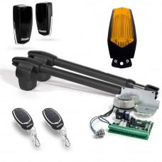 Kit automatizare poarta batanta Motorline LINCE 300 - 24V, 2.5 m/canat, 250 Kg/canat, 60 W