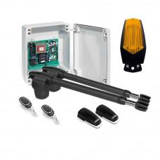 Kit automatizare poarta batanta Motorline LINCE 400 - 230V, 250 Kg/cant, 3 m/canat, 180 W