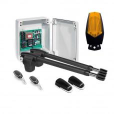 Kit automatizare poarta batanta Motorline LINCE 600 - 24V, 350 Kg/canat, 4 m/canat, 60 W