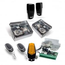 Kit automatizare poarta batanta Motorline SUBWING724, 2.5 m/canat, 24 Vdc, 500 Kg/canat