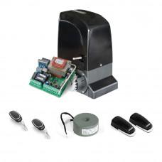 Kit automatizare poarta culisanta Motorline KIT SLIDE1024, 1000 Kg, 7 m, 24 V