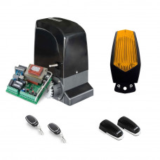 Kit automatizare poarta culisanta Motorline KIT SLIDE800A, 800 kg, 7 m, 230 Vac