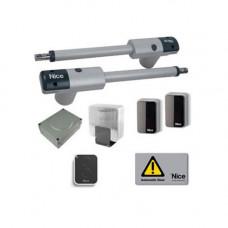 Kit automatizare porti batante Nice TOO3024KCER10, 3 m/canat, 300 Kg/canat, 24 V