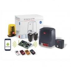 Kit automatizare porti culisante BFT DEIMOS A400 ULTRA BT+Beba, 400 Kg, 24 V, telecomanda Wi-Fi