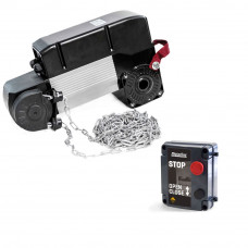 Kit automatizare usi sectionale industriale Motorline KVM105, 35 m2, 230 Vac, 650 W