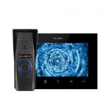 Kit videointerfon Slinex VID-SLI-02, 1 familie, 7 inch, aparent