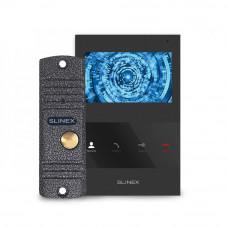 Kit videointerfon Slinex VID-SLI-06-B, 1 familie, aparent, 4 inch