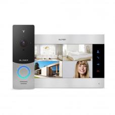 Kit videointerfon WiFi Slinex 1xML-20IP-SB+1xSL-10M-SB, 1 familie, aparent, ecran 10 inch