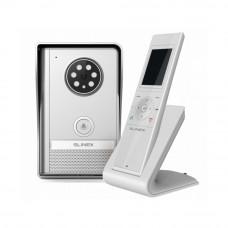 Kit videointerfon wireless SLINEX RD-30V2, 1 familie, aparent, vila