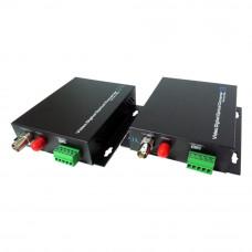 Kit convertor video CVBS UOF101VD-S20, 20Km, 2W