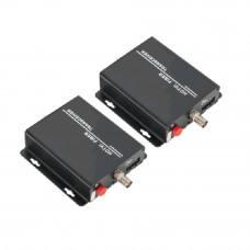 Kit convertor video HD UTP101HV-FS20-1080 analogic, 20 km, 75 ohm