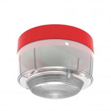 Lampa semnalizare conventionala Hochiki CWST-RW-S5, IP21C, LED alb, carcasa PC-ABS rosu