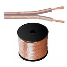 Cablu Boxe Silicon M--Flex SPC B75, 2x0,75 CCA Rola 100 m