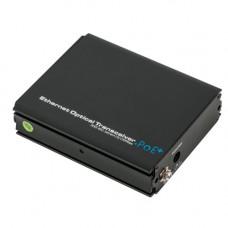 Media convertor UOF7301E-POE, 100 Mbps, 1 port SFP, 1 port PoE