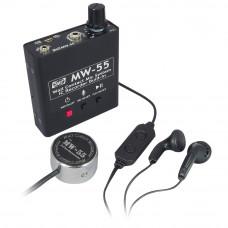 Microfon de contact (perete) cu reportofon Sun Mechatronics MW-55, 11 ore, 550 mAh, 2 GB