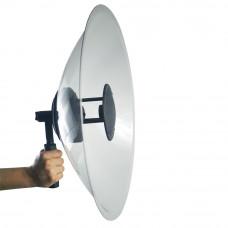 Microfon directional profesional cu amplificare