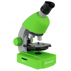 Microscop optic Bresser Junior 40x-640x verde