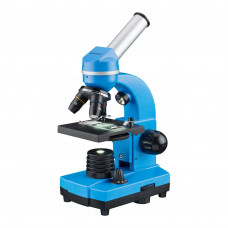 Microscop optic Bresser Junior Student Biolux, albastru